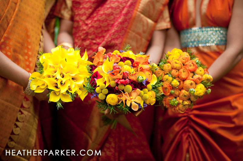 Indian wedding flower ideas