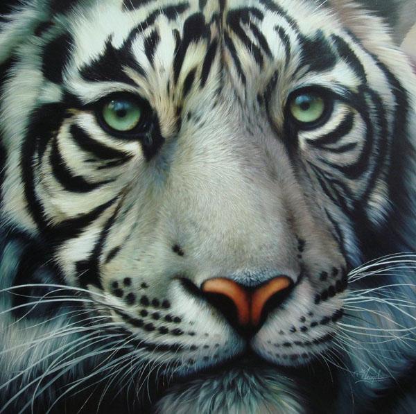 7 Photo-Like Acrylic Paintings | Mow Design | Graphic ...