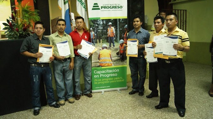 "Culminan curso de Programa ""Capacitación en Progreso"""