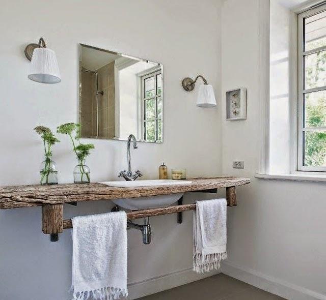 Lovers of mint une salle de bains au naturel for Idee deco sdb