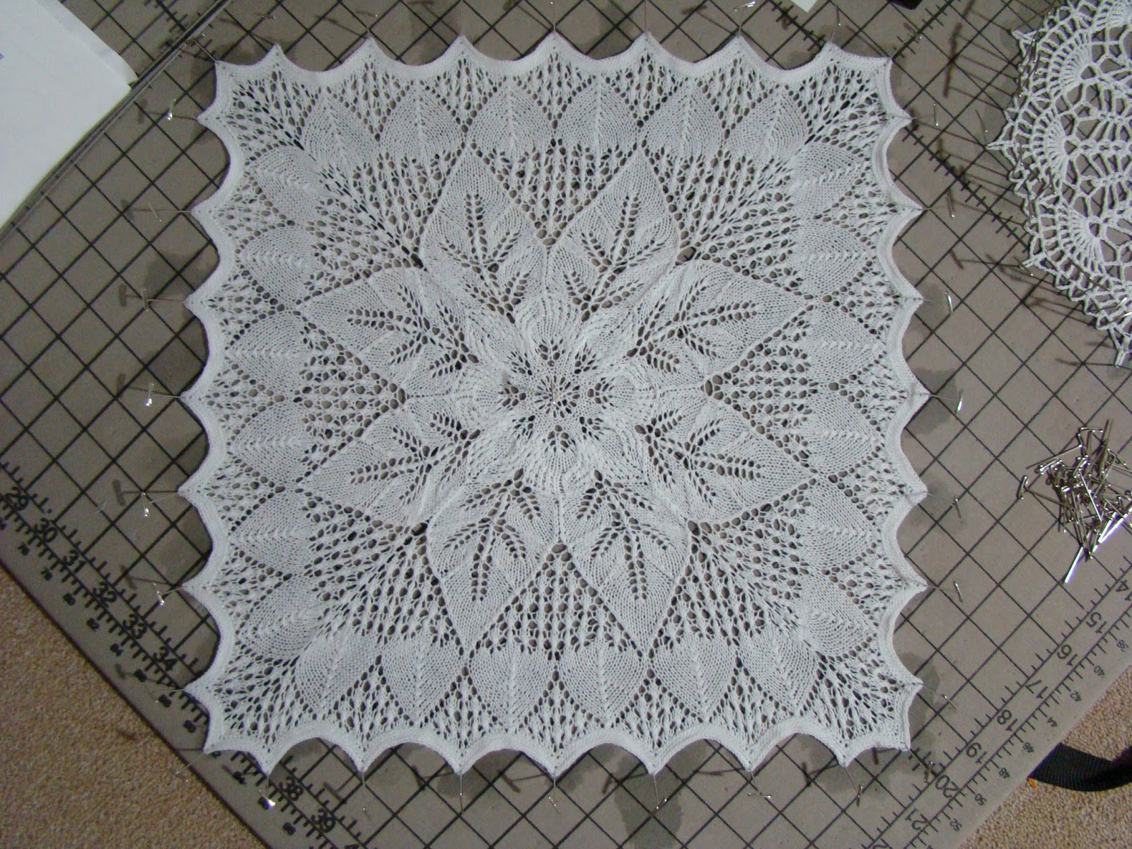 Funky Knitted Doily Patterns Crest - Blanket Knitting Pattern Ideas ...