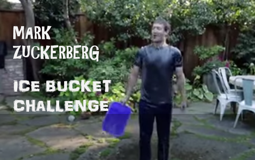 FACEBOOK MARK ZUCK ICE BUCKET CHALLENGE PICS