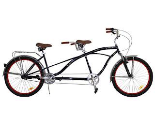 sepeda tandem dapat membuat anda dan pasangan tetap langgeng