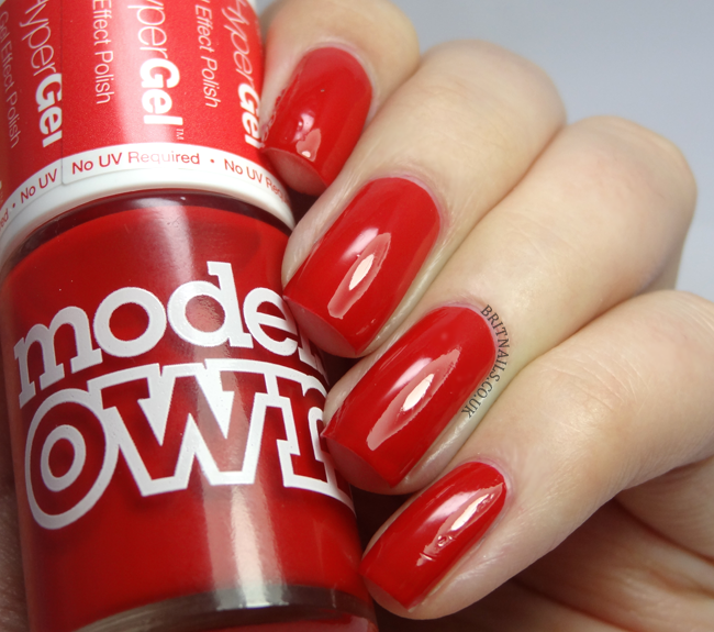 Models Own Hyper Gel Red Lustre