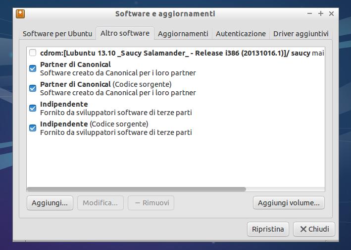 Lubuntu 13.10 - Guida post installazione