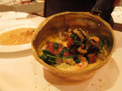 Lobster Pot Pie at Michael Mina