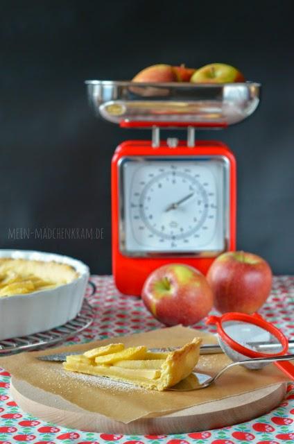 Mädchenkram, Apfelkuchen, vegan