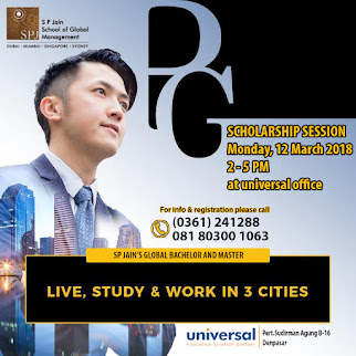 Scholarship session - Live, Study and Work in 3 cities