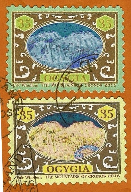 STAMPS OF THE LOST CONTINENT OF OGYGIA