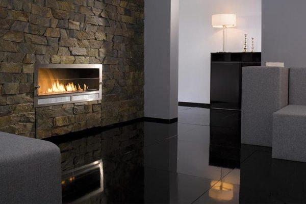 Decoraci n minimalista y contempor nea chimeneas modernas - Decoracion de chimeneas modernas ...