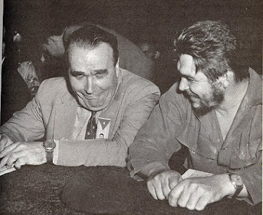 "Enrique Lister junto a Ernesto ""Che"" Guevara."