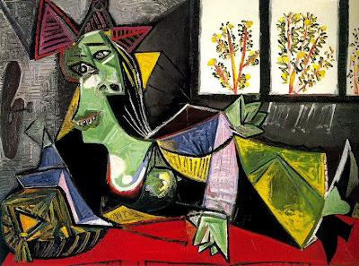 Picasso - Femme allongée sur un divan 1935