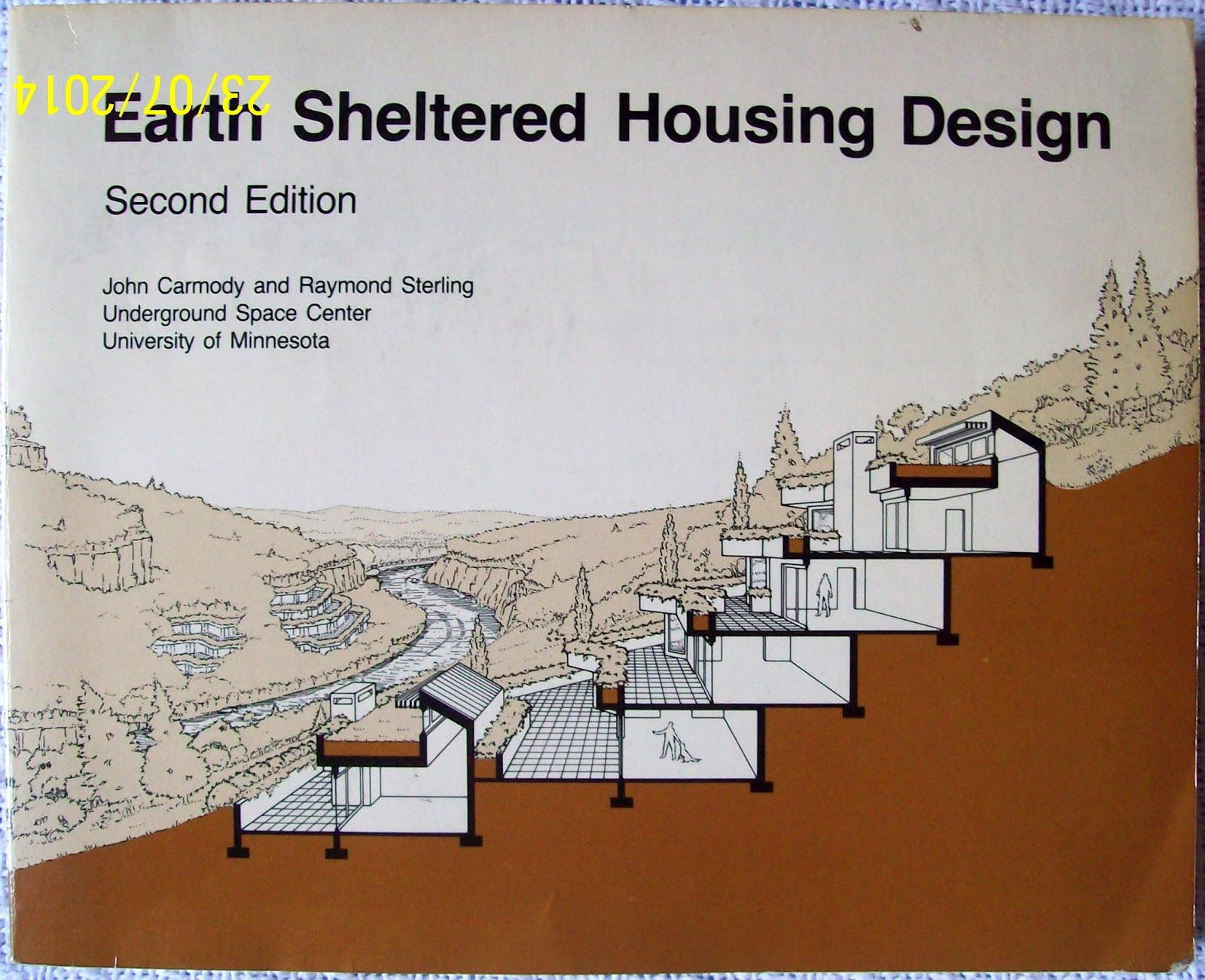 Do it yourself green building with jerry young timeline for Earth sheltered home plans designs