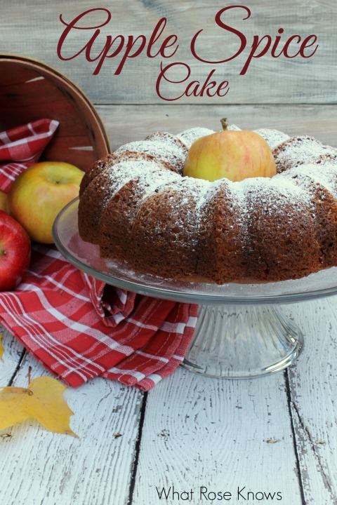 Treasure Hunt Thursday What Alice Knows Apple Spice Cake From My Front Porch To Yours