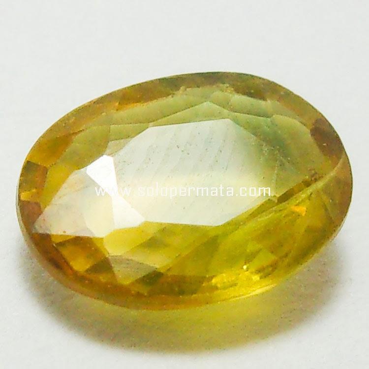 Batu Permata Yellow Sapphire  - 03B05