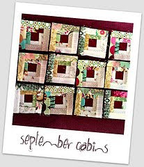 Log Cabin Block Swap