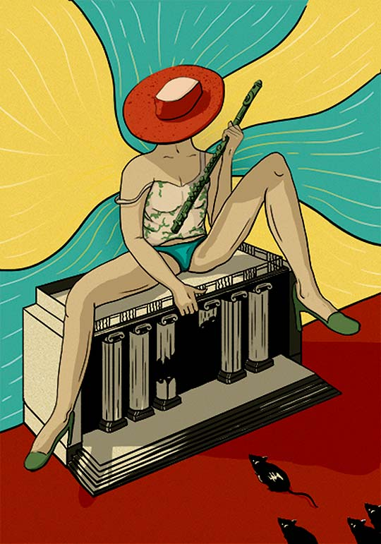 Ilustración de Jonathan Parra Diaz aka Jona