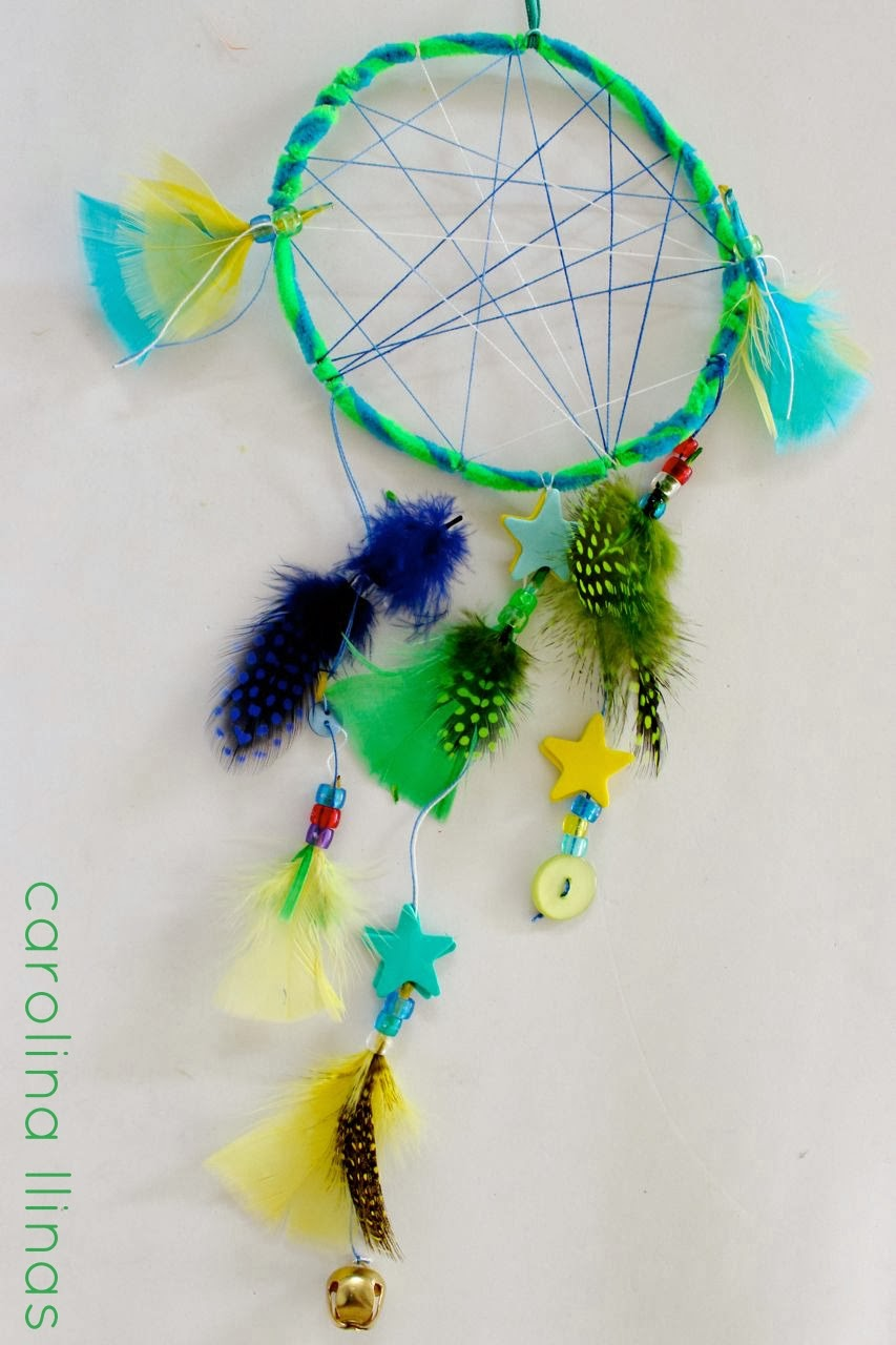 Dream Catcher Craft Paper Plpates