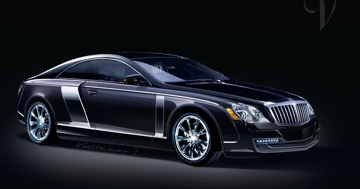 Ilya Vostrikov Maybach Coupe