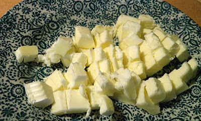 Cut up Chunks of Butter