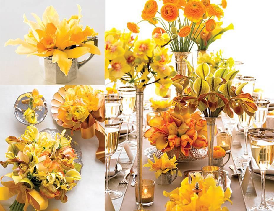 decoracao branco amarelo : decoracao branco amarelo:Sou Noiva  De Novo!!!: Decoração Amarela
