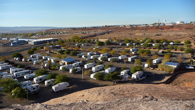 Metamorphosis Road Campground Review Page Lake Powell