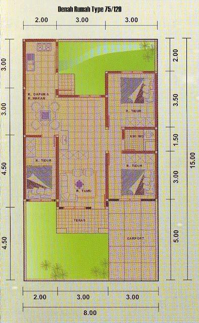 Rumah Minimalis Type 75