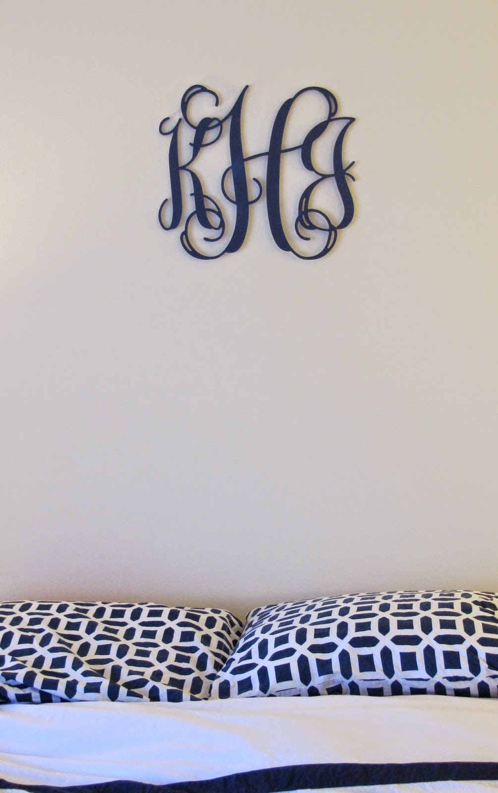 Nautical by Nature: Southern Nest wooden monogram