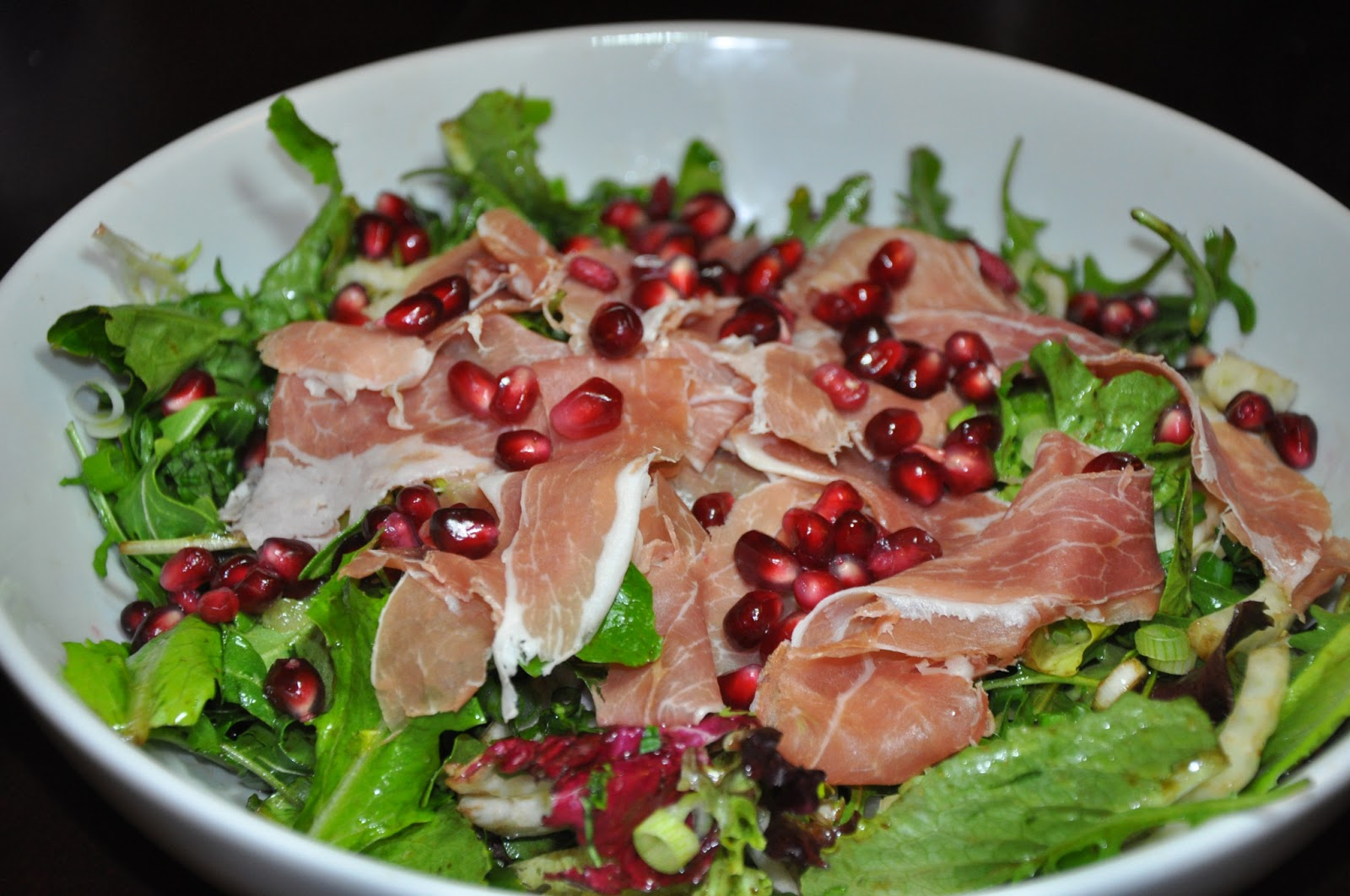 prosciutto and pomegranate salad recipes dishmaps fennel prosciutto ...