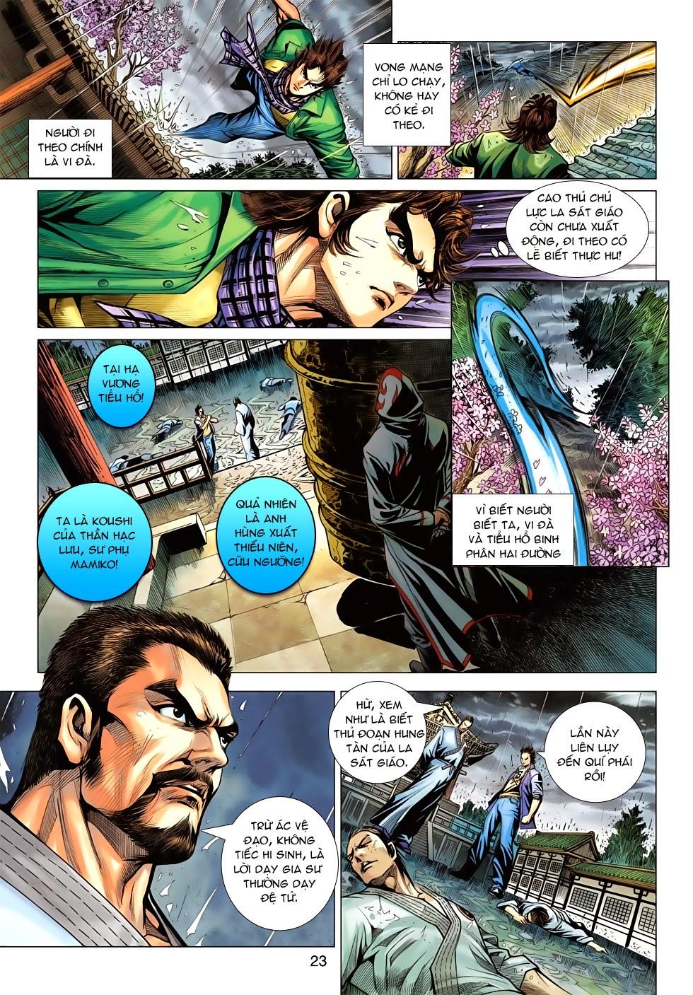Tân Tác Long Hổ Môn chap 643 - Trang 23