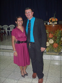 Pastor Setubal e Esposa Irmã Marilene