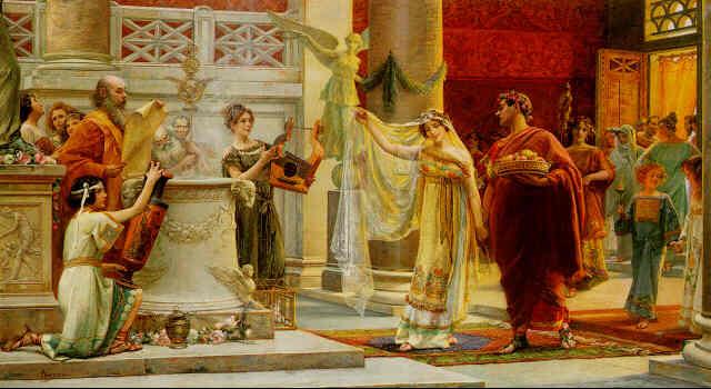 Bodas en Grecia y Roma clasicas