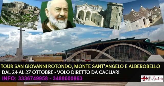 FOTO TOUR SAN GIOVANNI ROTONDO BUYSARDINIA
