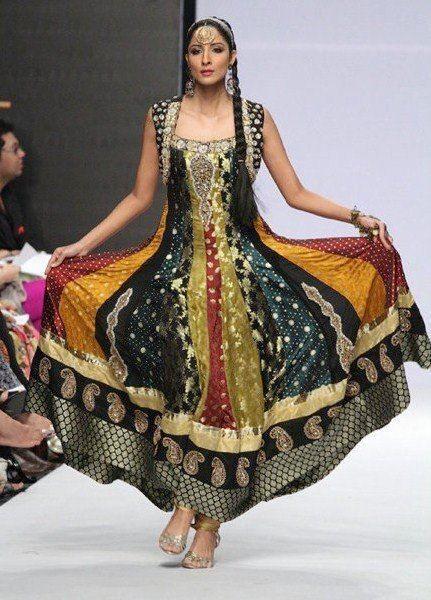 Multi Color Fashion Dress