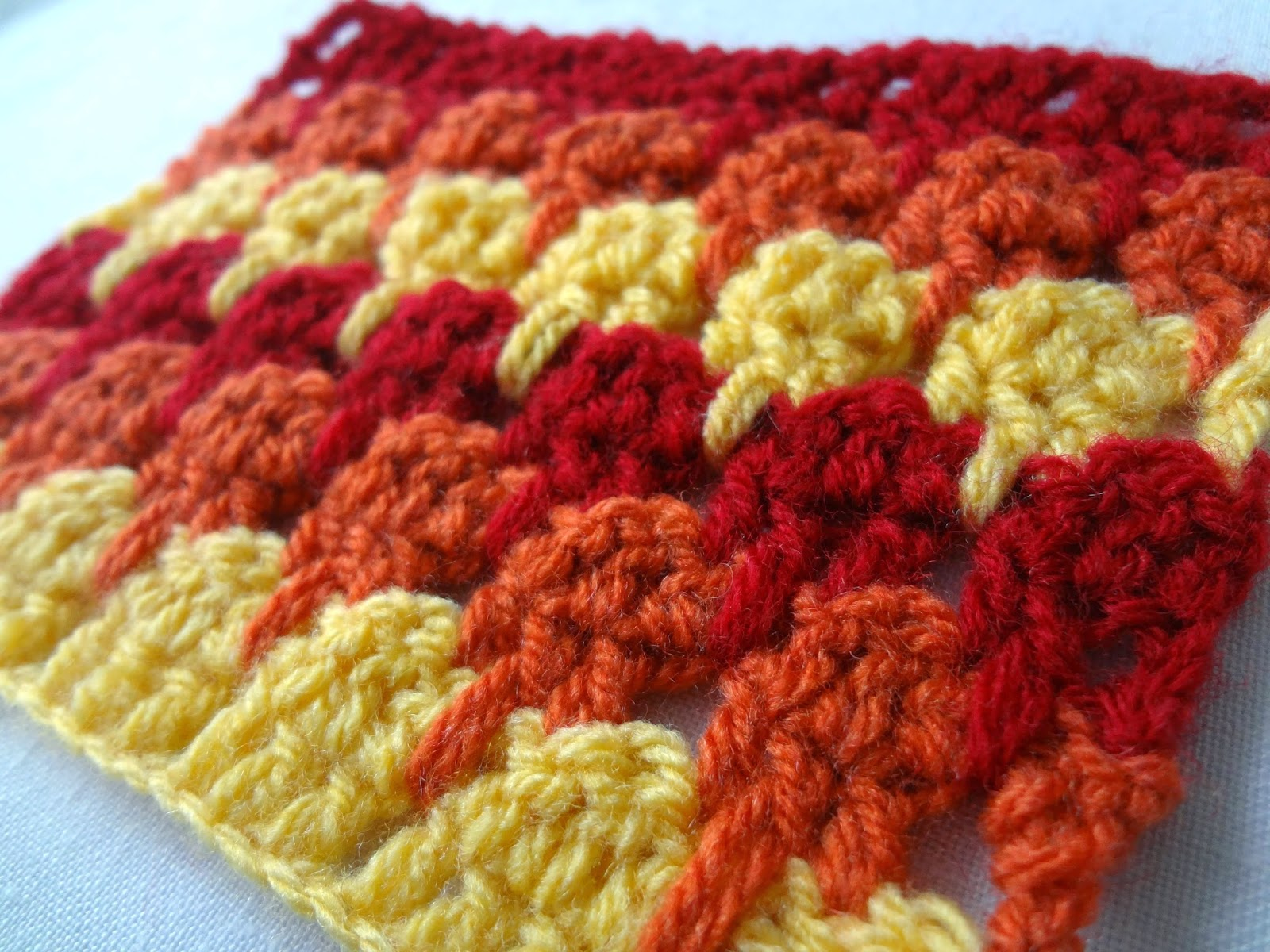 ... : Larksfoot Crochet Stitch Pattern (or the Icicle Stitch) Demistified
