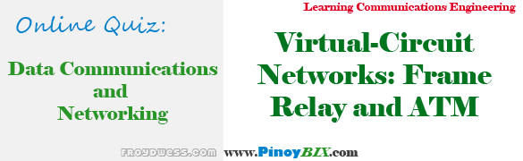Practice Quiz in Virtual-Circuit Networks: Frame Relay and ATM