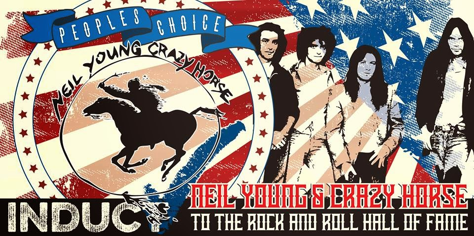 Neil Young & Crazy Horse into Rock and Roll Hall of Fame
