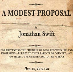 Introduction A Modest Proposal Jonathan Swifts A Modest Proposal