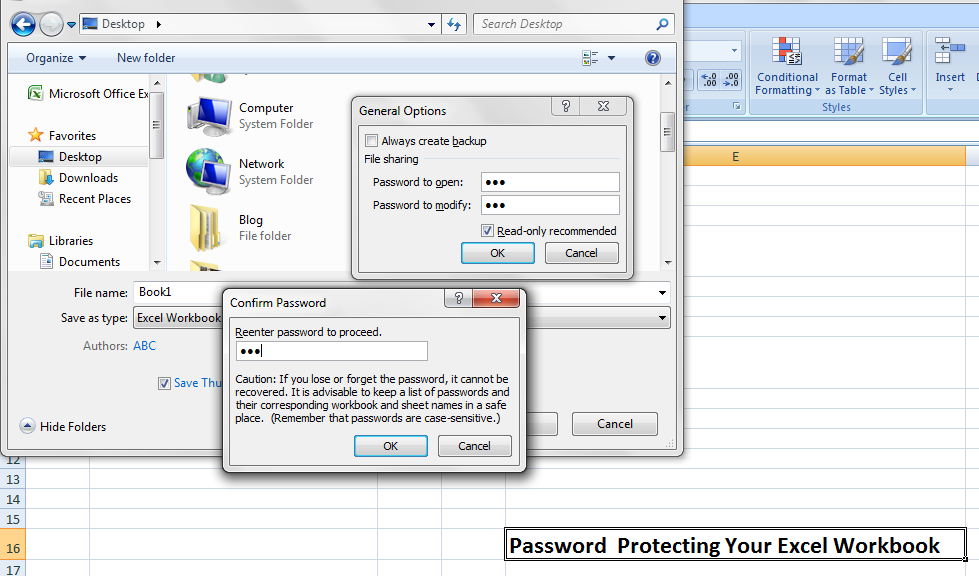 how to open protected excel file