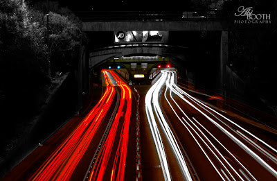 tips for photographing light trails