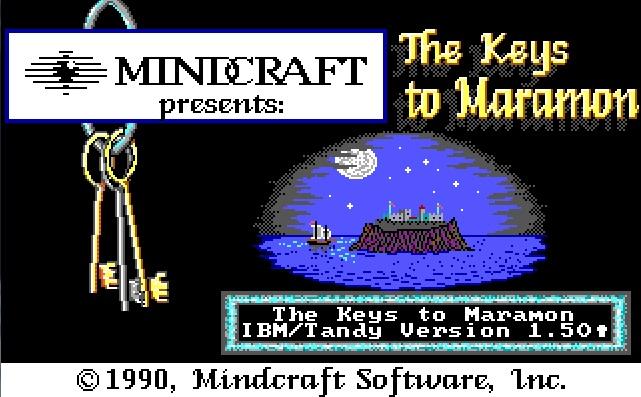 Maramon directory and the game The Keys to Maramon will start, enjoy