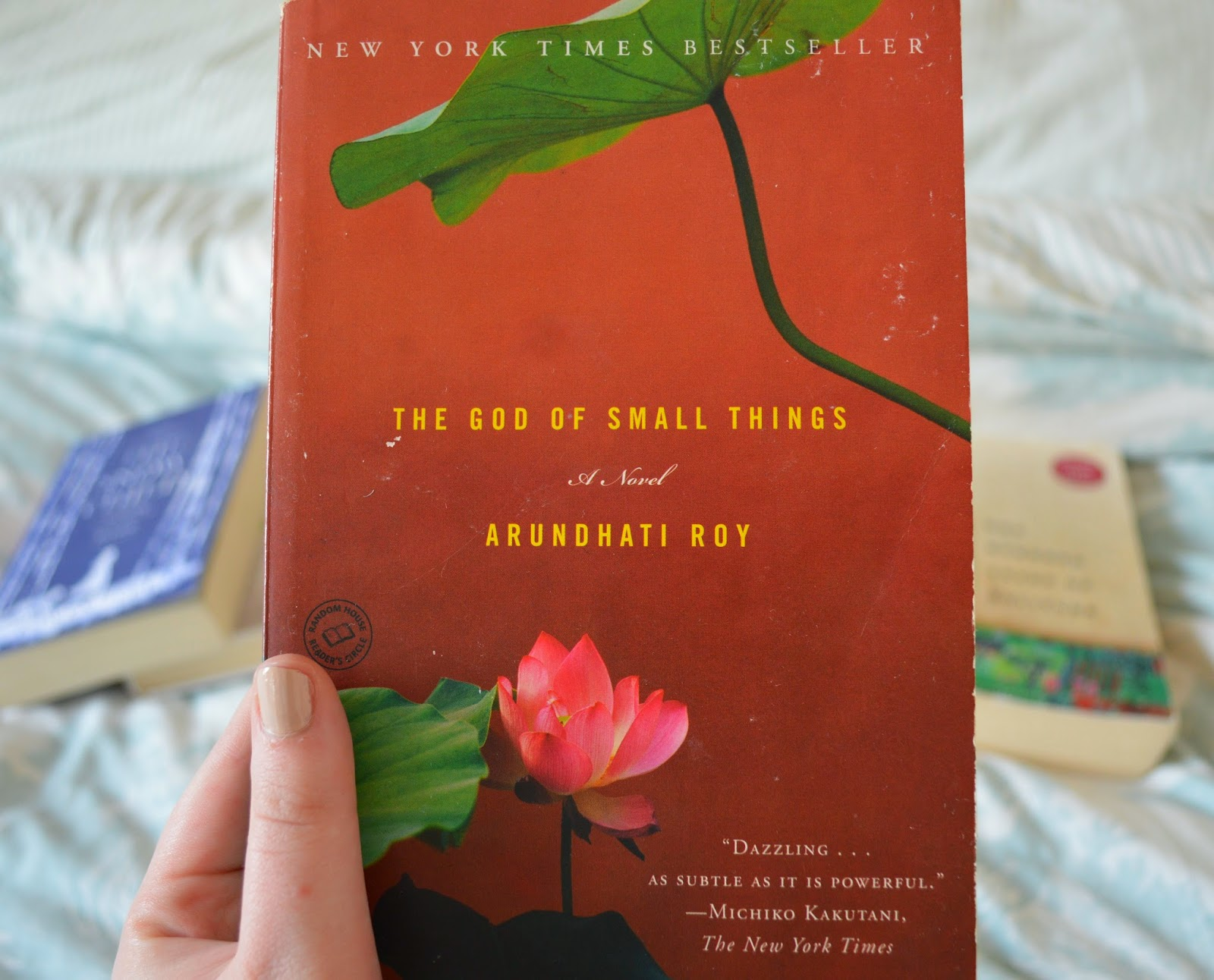photo, photography, list, mother's day, recommendations, paperback, family centred, literature, suggestions, The God of Small Things, Arundhati Roy
