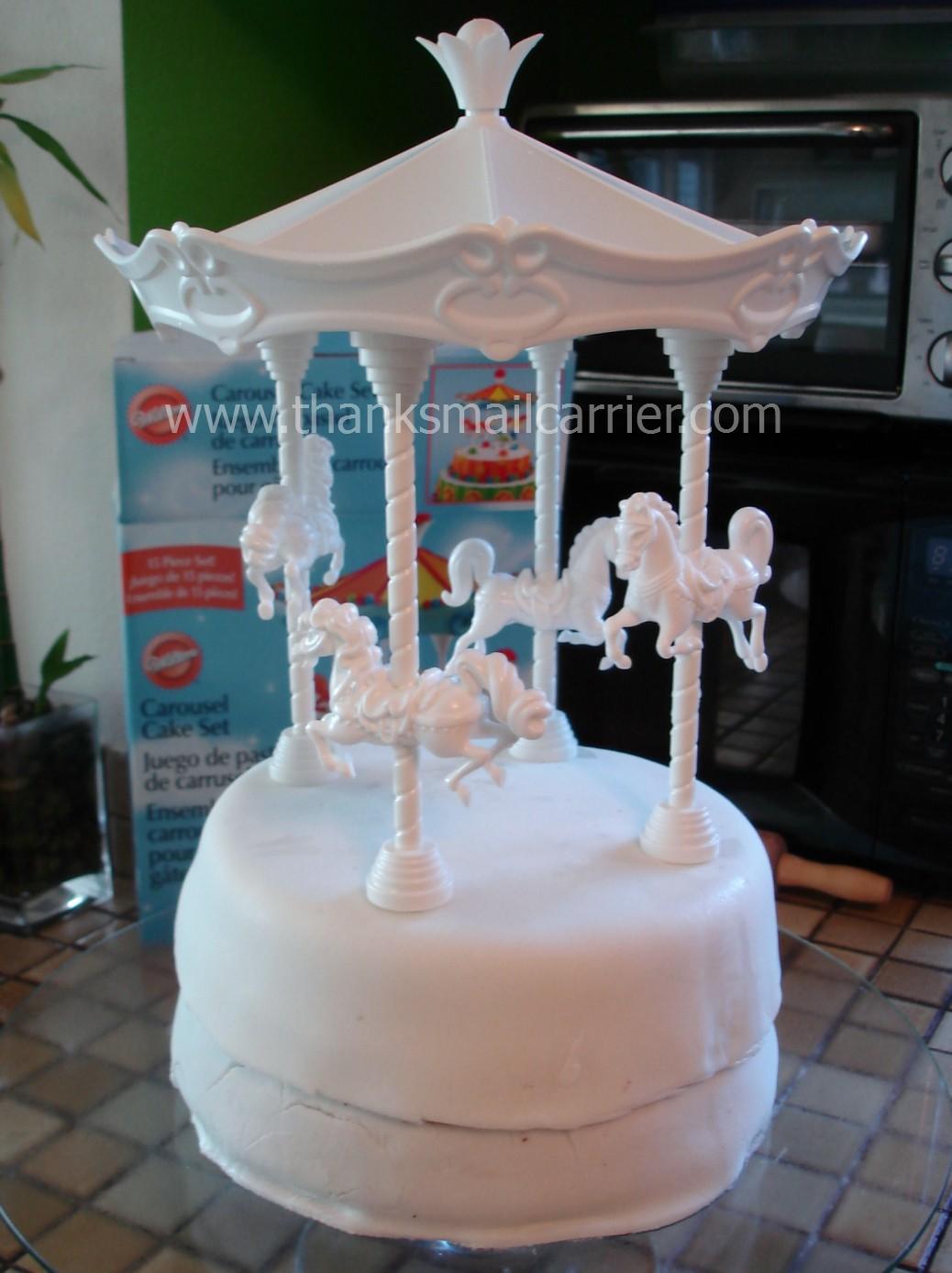 How To Make A Wilton Carousel Cake