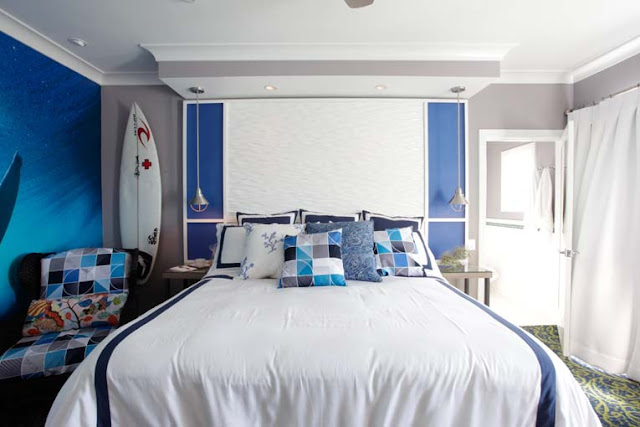 Design squeezed daily february 2012 for Surfers bedroom design