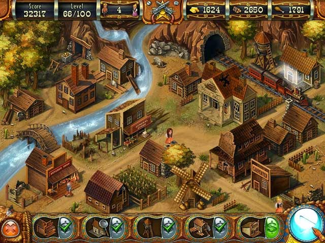 Game Wild West Story