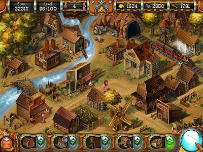 Game Bermain Puzzle menyenangkan Wild West Story