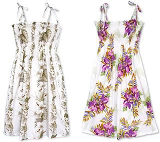 Short Smocked Tube Dresses