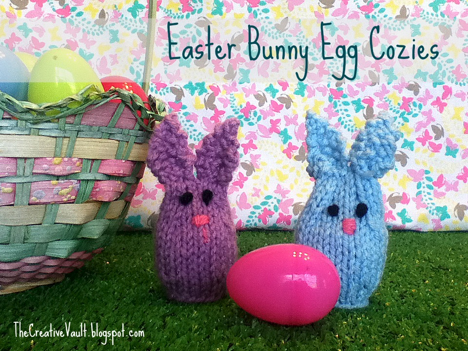 Owl Egg Cosy Knitting Pattern : The Creative Vault: Easter Bunny Egg Cozies & Owl