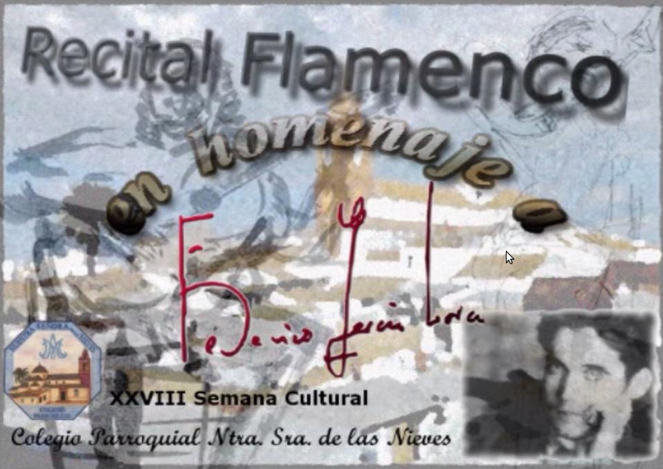 """Proyecto """"Lorca y el Famenco"""""""