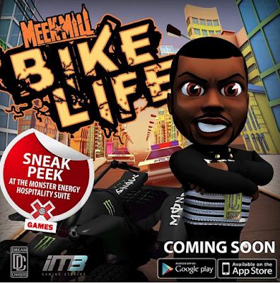 "MEEK MILL TO RELEASE ""BIKE LIFE"" VIDEO GAME"